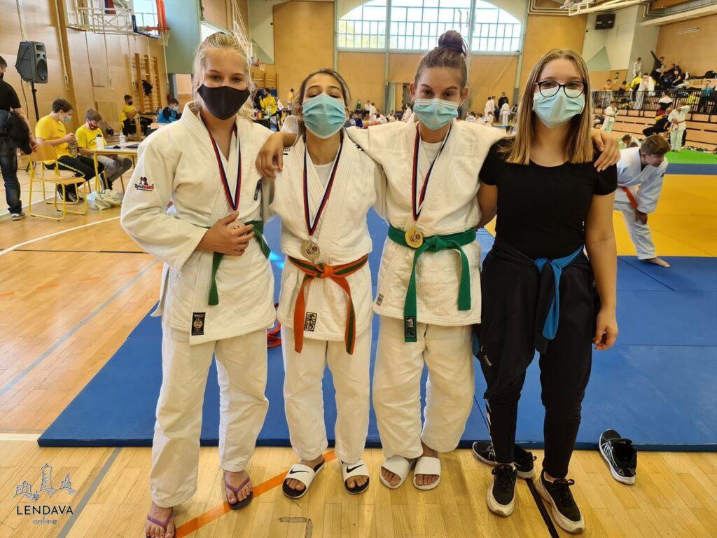 Lendavske judoistke